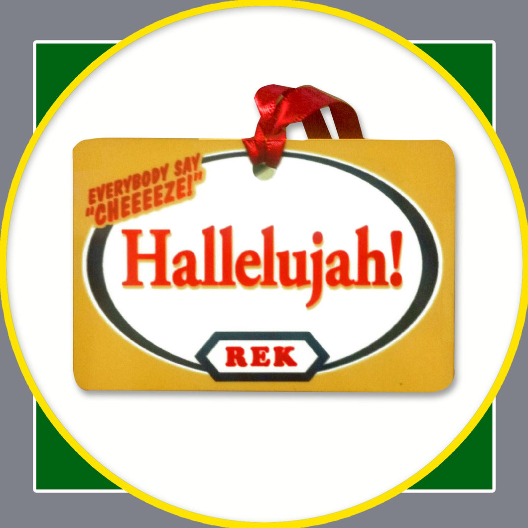 Hallelujah Ornament