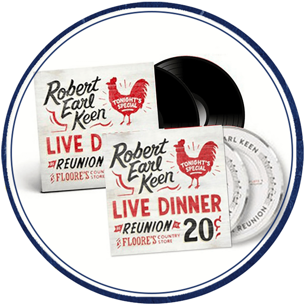 REK Live Dinner Reunion CD/LP Combo