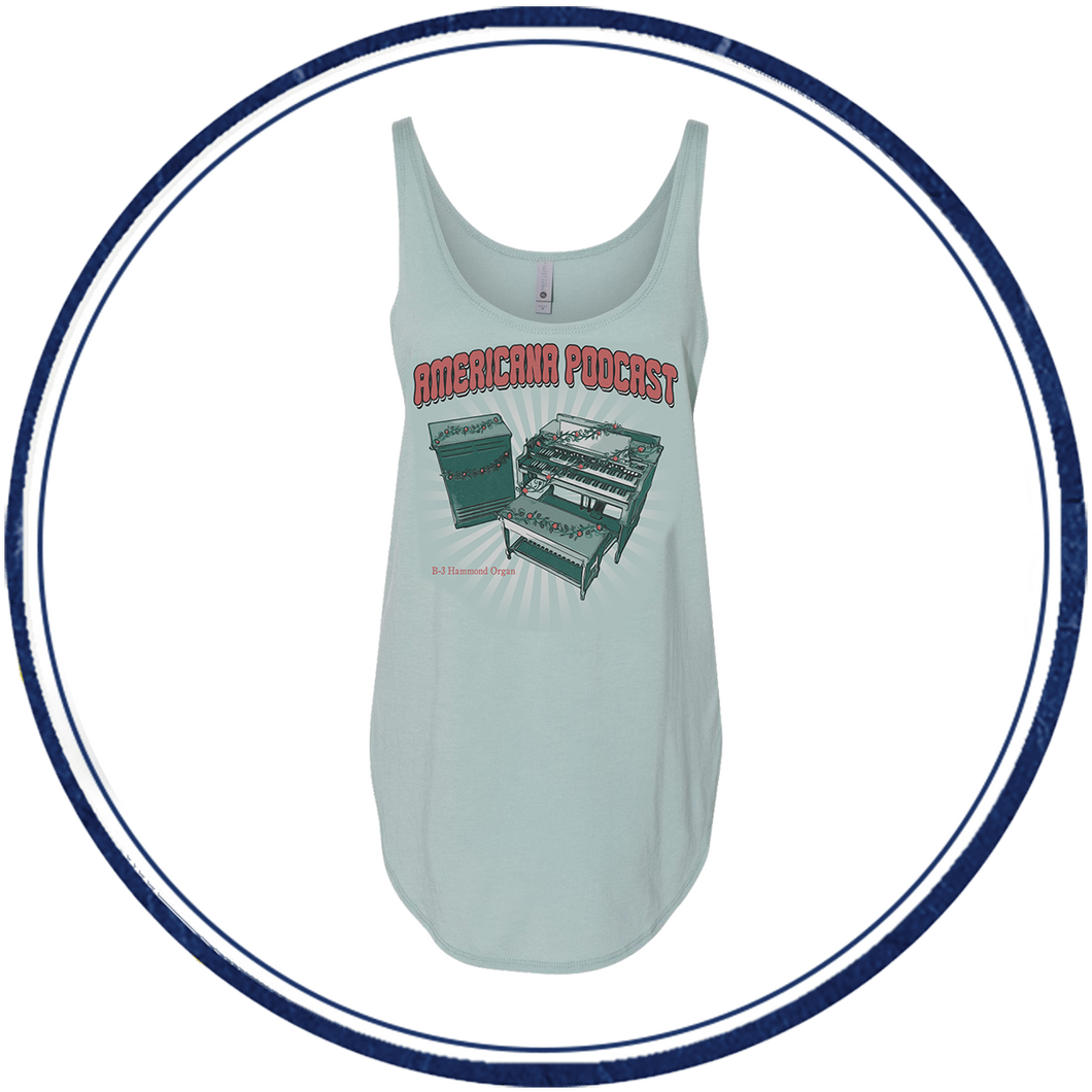 Americana Podcast B-3 Women's Tank