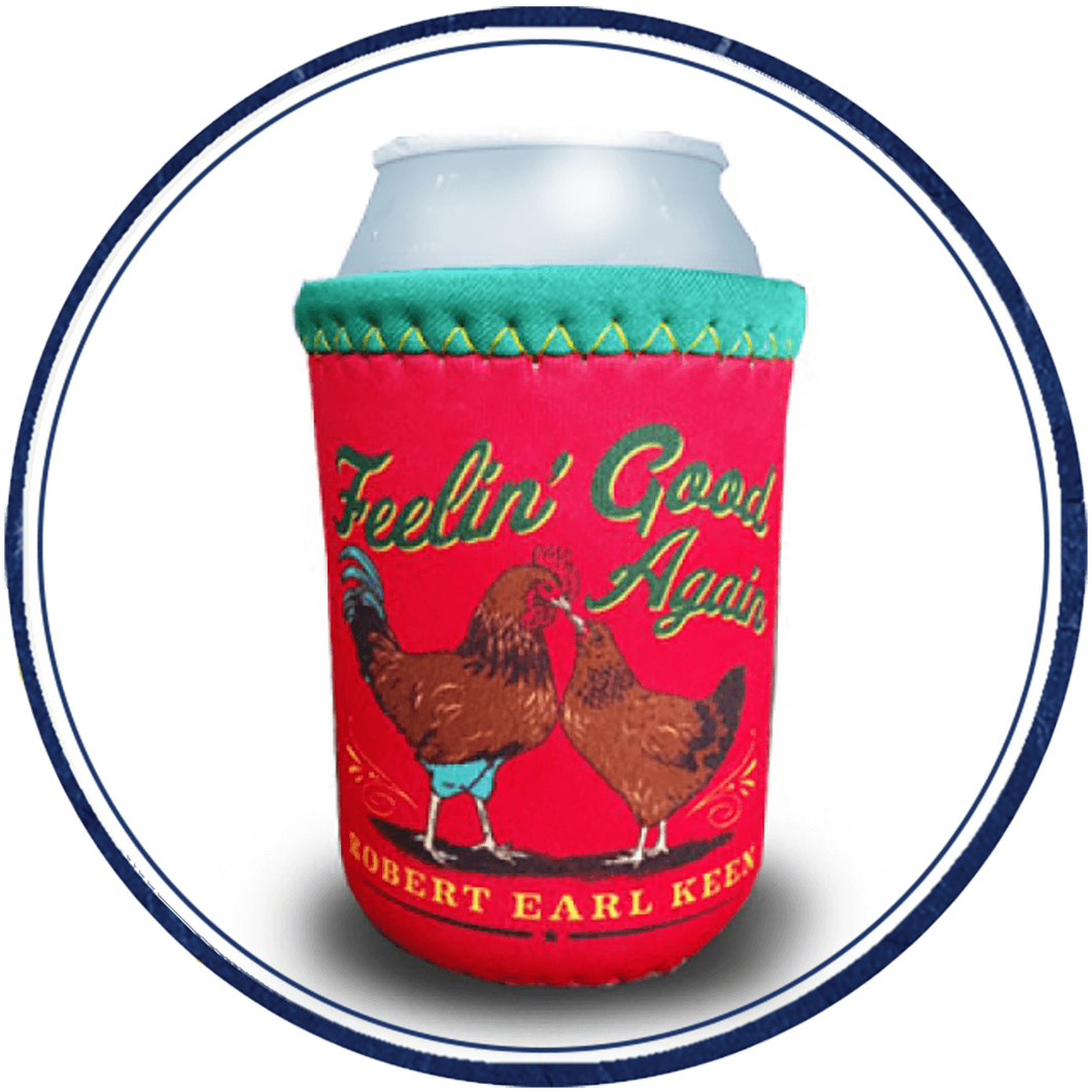 Red & Green Numo Koozie