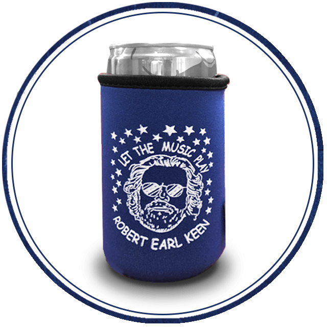 REK - Let the Music Play Koozie - 8oz.