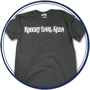 Robert Earl Keen Black Value Tee