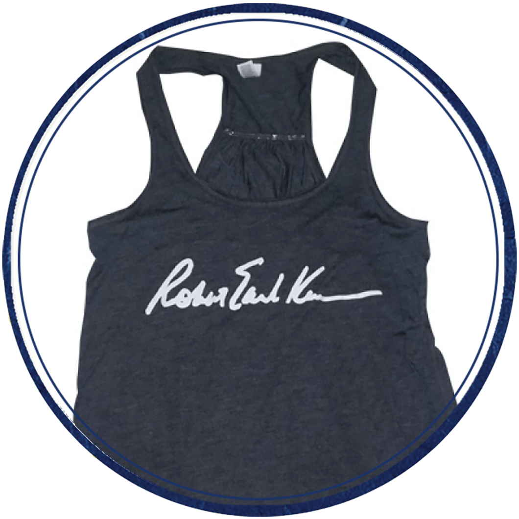 Women's dark grey tanktop