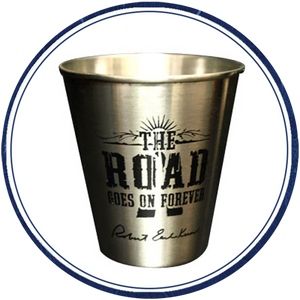 Road Shot Glass