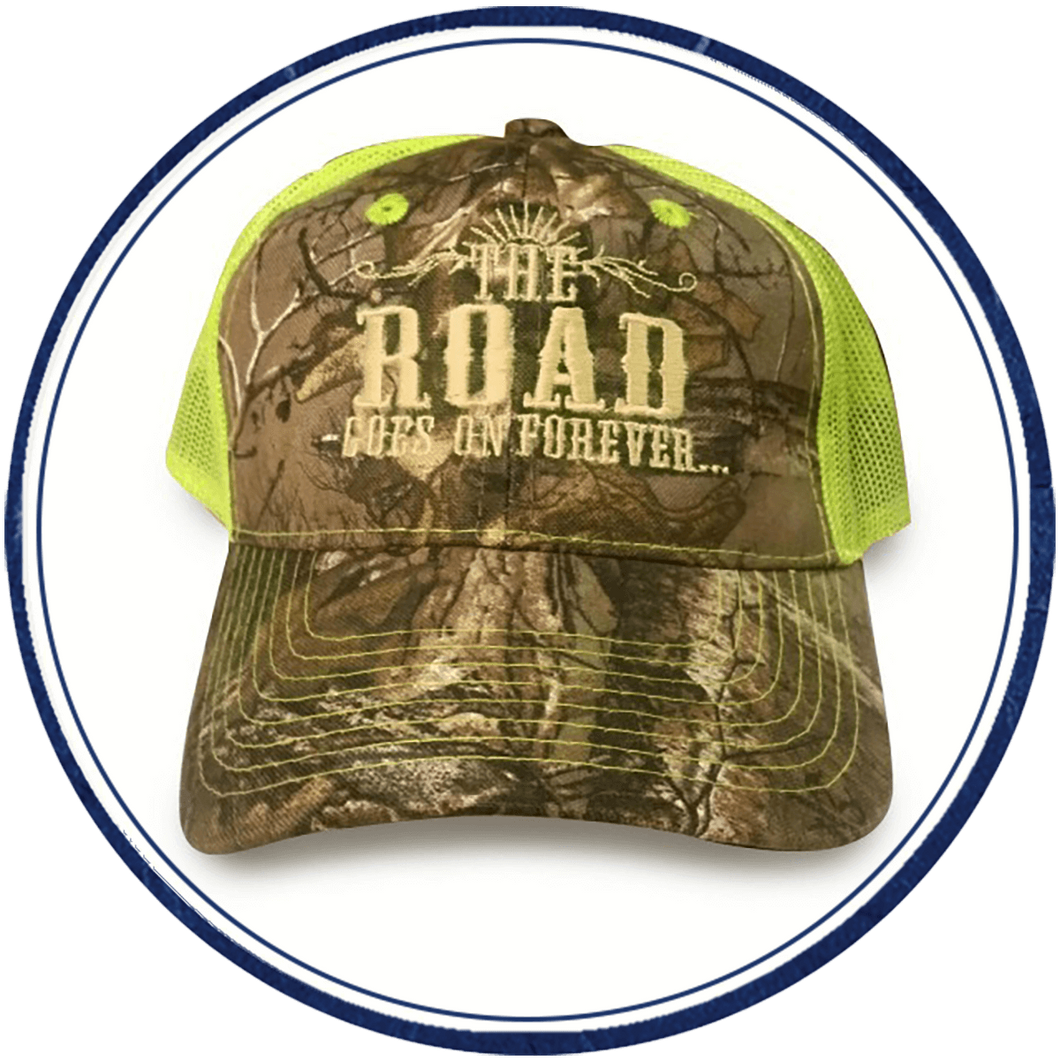 The Road Goes on Forever Realtree cap