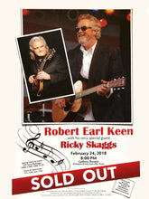 Load image into Gallery viewer, Signed Robert Earl Keen & Ricky Skaggs Poster
