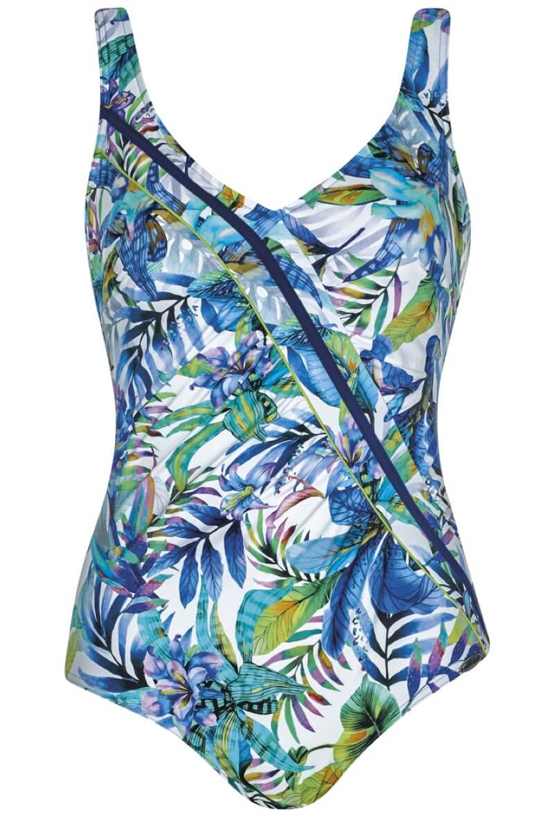 22351 Sunflair Floral Print Summer Breeze Swimsuit