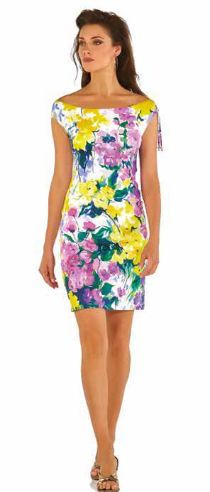 678/04 Roidal Floral Print Lisi Dress