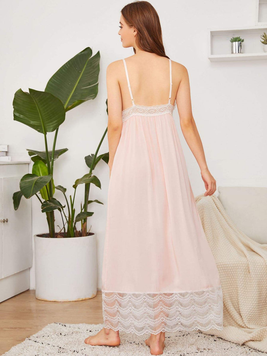 Sweet Pea Lace Cami Night Dress
