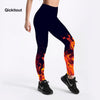 Women's Flame Print Leggings