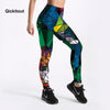 Women's Diamond Multi-Color Leggings