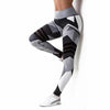 Fast Dry Fitness Geometric Leggings