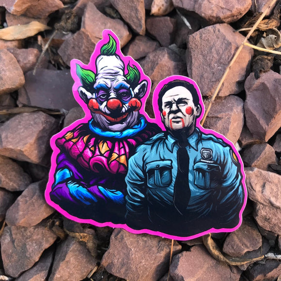 Jumbo Klown sticker 3""