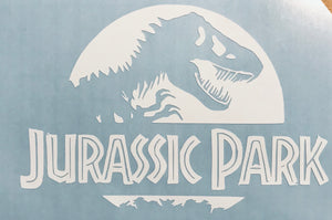 Welcome to Jurassic Park - car window decal