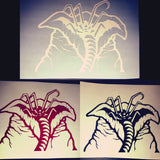 Facehugger Egg Sac car window vinyl decal