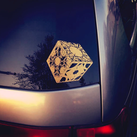 Cube Lament Configuration Vinyl Car Window Decal