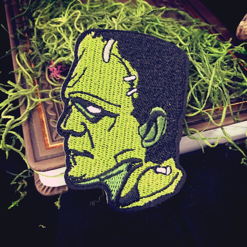 Frankenstein iron-on patch
