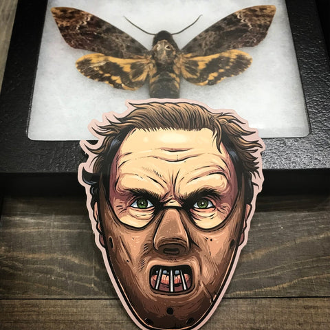 "Hannibal 3.5"" vinyl sticker"