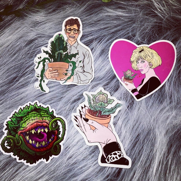 Little Shop of Horror Sticker Bundle & Individuals