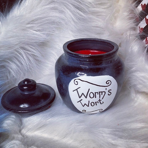 Worm's Wort XL candle