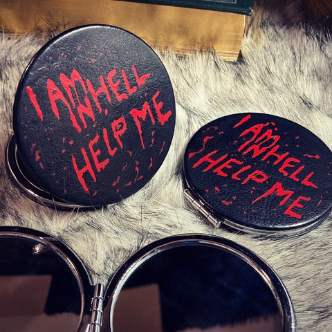 Help Me - compact mirror