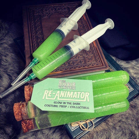 Re-Animator glow in the dark prop/collectible syringe