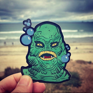 "Creature 3.5"" sticker"