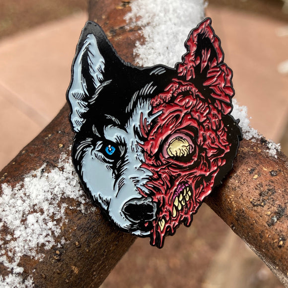 The Thing Husky pin