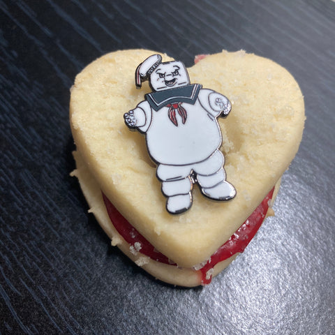 Mr. Stay Puft pin
