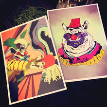 Load image into Gallery viewer, Killer Klown 5x7 art print bundle & individual