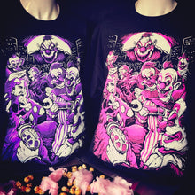 Load image into Gallery viewer, Killer Klowns Attack t-shirt
