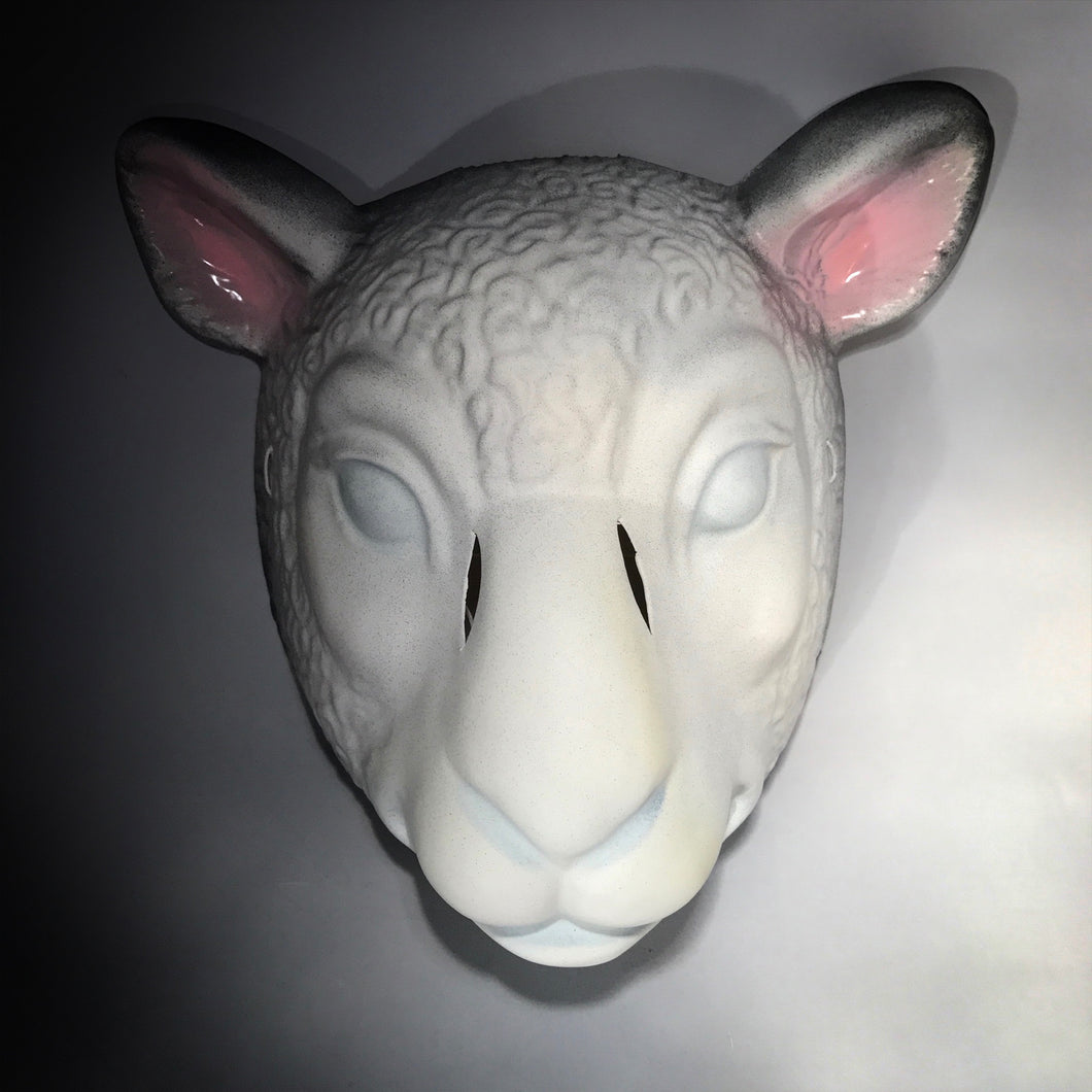 Lamb Mask You're Next - Halloween / Cosplay Mask