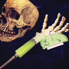 Load image into Gallery viewer, Re-Animator glow in the dark prop/collectible syringe