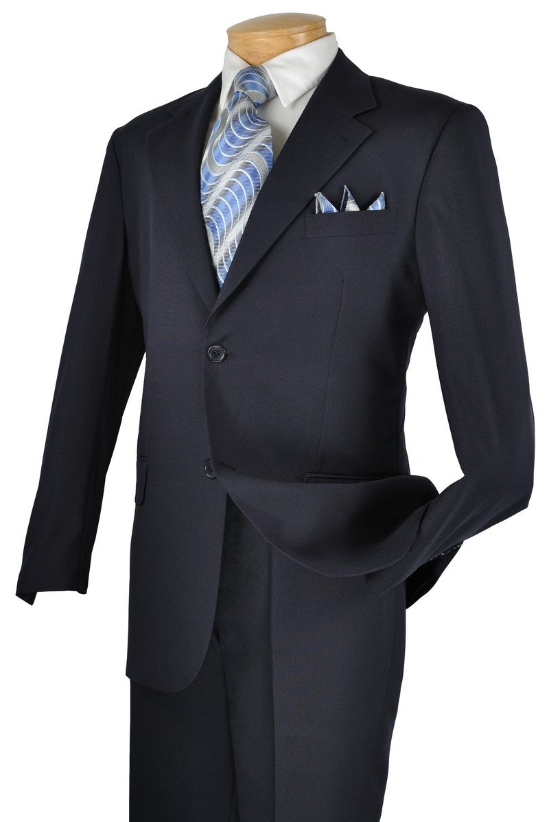 2PP Budget Collection Single Breasted Suit Black