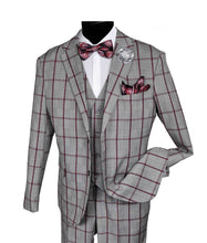 Load image into Gallery viewer, 9224 BUD VESTED     DESIGNER: FALCONE SUIT