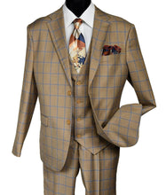Load image into Gallery viewer, 9228 BUD VESTED     DESIGNER: FALCONE SUIT