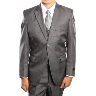 Kids 5pc Grey Suit