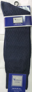 Mens Nylon Dress Socks Ankle length NAVY BLUE