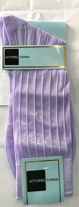 Mens Nylon Dress Socks Ankle length Lavender