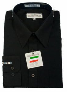 BASIC DRESS SHIRT BLACK