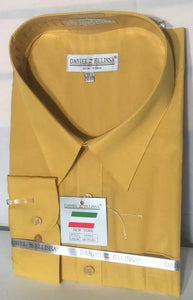 Basic Dress Shirt MUSTARD