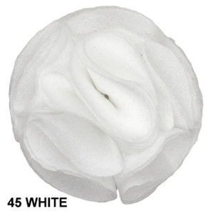 LAPEL PIN #45 ROSE - WHITE