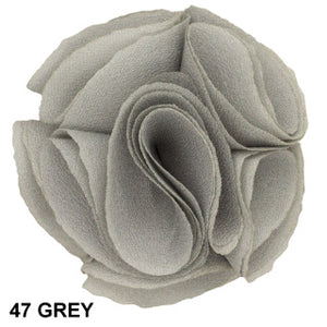 Lapel Pin #47 ROSE - GREY