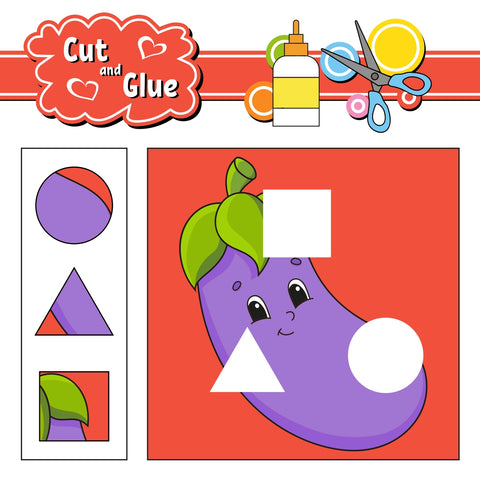 Cut & Glue Shapes (4803261169800)
