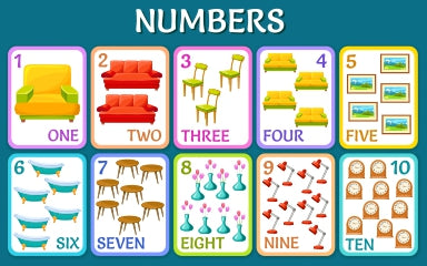 Numbers Flash Cards (4802977824904)