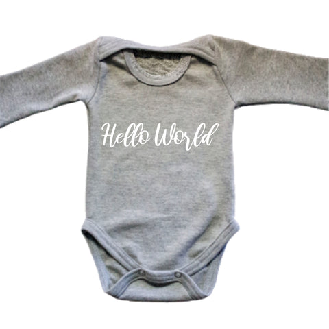 Gift Box Baby Grows (Hello World)
