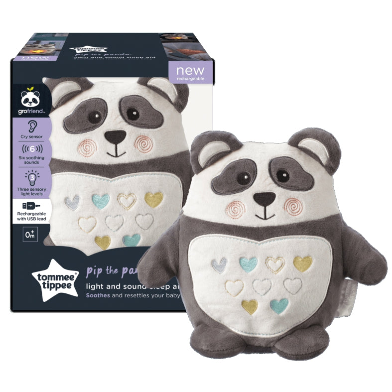 Pip Panda (Light & Sound Sleep Aid – Rechargeable)