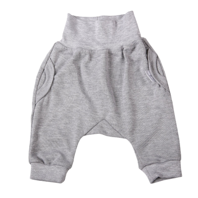 Grey Slouch Pants (0-3 Months)