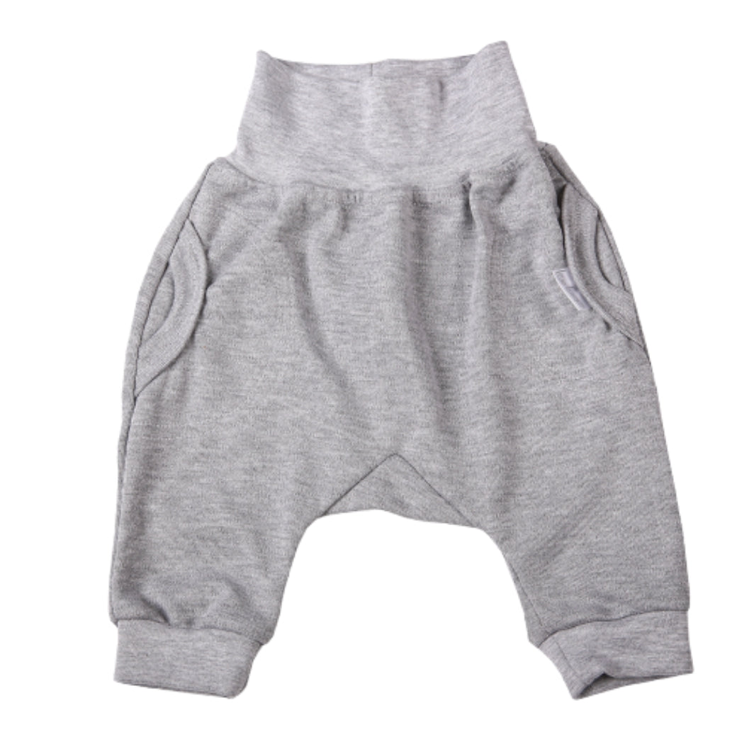 Grey Slouch Pants (3-6 Months)