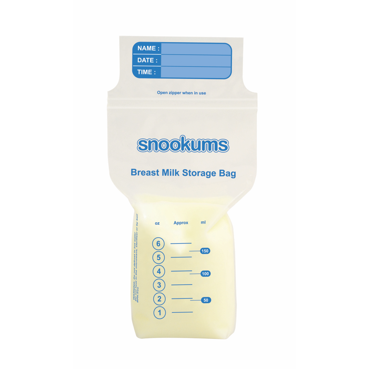 Breast Milk Storage Bags (25 Piece) (4562957598856)
